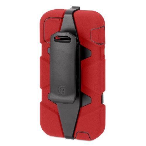 Griffin Survivor (Red/Black/Black) für iPhone 5
