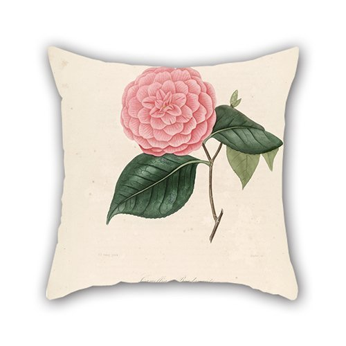[The Flower Throw Pillow Case Of ,18 X 18 Inches / 45 By 45 Cm Decoration,gift For Home Office,floor,drawing Room,seat,divan,her (each] (John Paul Jones Costumes)