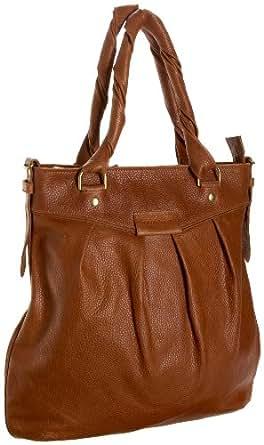 Fullum & Holt Classic Handbag,Tan,one size