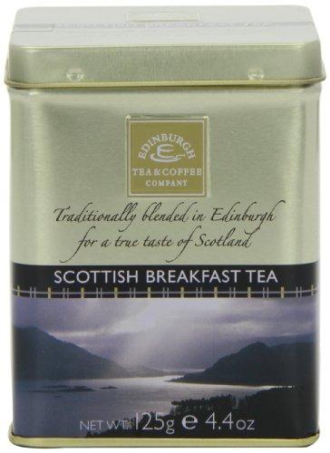 Edinburgh Tea and Coffee Company Scottish Breakfast Tea Caddy 125 g (Pack of 3)