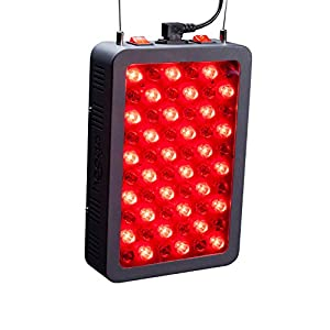 Gut Health Shop 41NigYgXAoL._SS300_ Red Light Therapy Device by Hooga, 660nm 850nm, Near Infrared LED Light Therapy Lamp Panel, 60 LEDs, Clinical Grade…