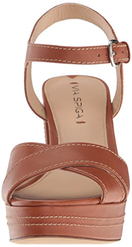 Brianna Via Spiga Dress Women's Sandal Platform Leather Cuoio ECHSqC