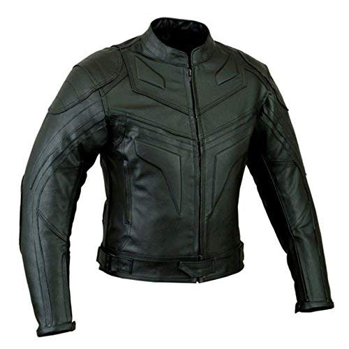 Amazon Cuero Fit Chaqueta De Moto Estilo Hombre Smart Es Batman AnarA