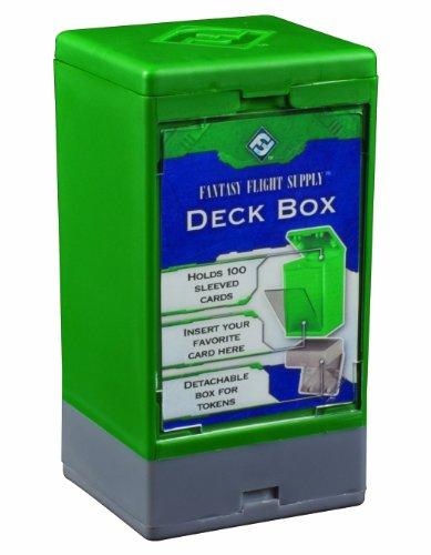 Fantasy Flight Supply Deck Boxes (Green)