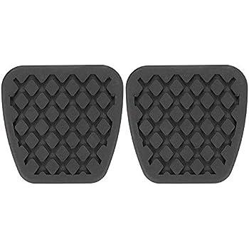 ihave 2X Brake Clutch Pedal Pad Covers for Honda Civic Del Sol CRX Integra 46545-SH3-000