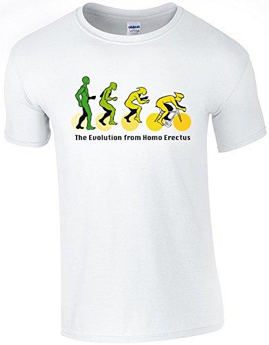 corta manga Blanco para de ciclos 360 de hombre Camiseta SPRwqnH5E5
