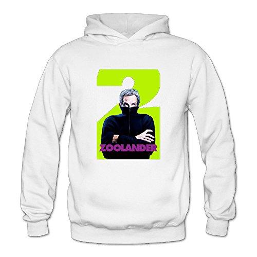 Zoolander 2 Women's Long Sleeve T Shirts White US Size -