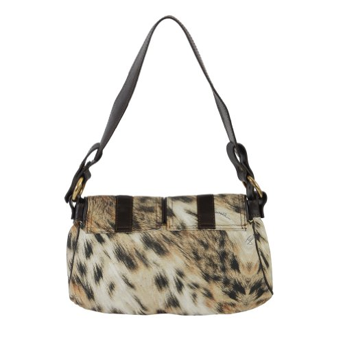 Just Cavalli Leather Handbag Hobo Bag