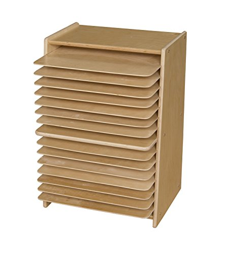 Contender C990647F Mobile Drying and Storage Rack, Assembled by Contender