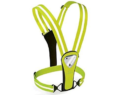 Amphipod Xinglet Pocket Plus Reflective Running Vest (Hi-Viz/Viz)