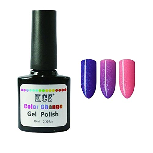 Nail Art Polish,Putars Sexy 1PC Nail Gel Polish Temperature