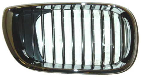 Unknown Partslink Number BM1200127 OE Replacement BMW 325//330 Passenger Side Grille Assembly