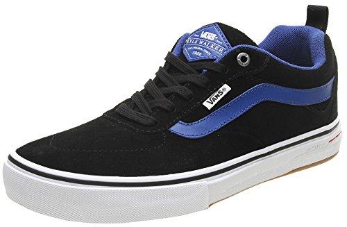 Vans Kyle Walker Pro (Real Skateboards) Black/True Blue Shoe VA2X sgm3F, 12 UK