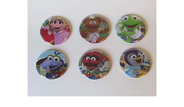 Genuine Disney Muppets Kermit The Frog Refrigerator Magnet Gift Retro Fridge