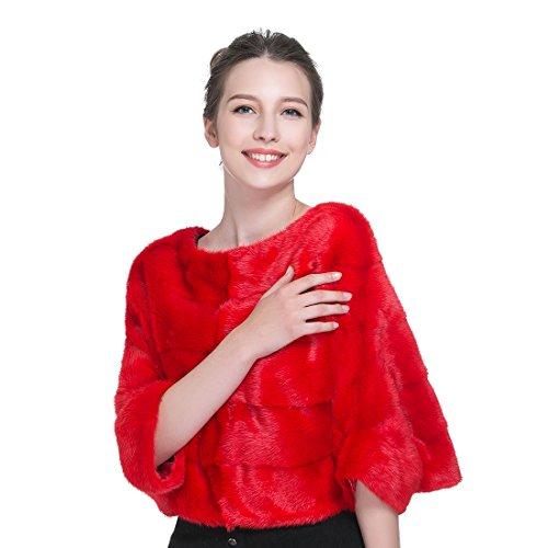 Rojo Ursfur Para Chaleco Chaleco Ursfur Mujer dXxwZqxSn