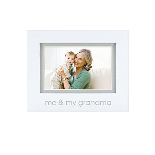 Pearhead Me and My Grandma Photo Frame, White