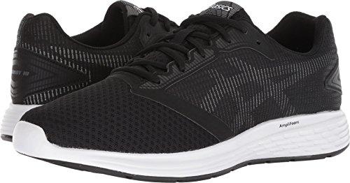 ASICS Patriot 10 - Zapatillas de Running para Hombre, Negro/Blanco, 9 D(M) US