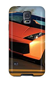 First-class Case Cover For Galaxy S5 Dual Protection Cover Lamborghini Gallardo Superleggera 5