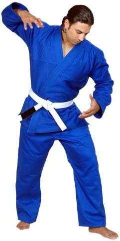 Woldorf USA Brazilian Jiu Jitsu BJJ Pants Blue Cotton Twill Size 5-A3