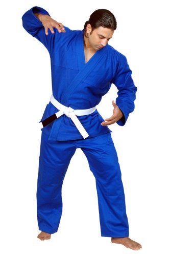 Woldorf USA BJJ着物Jiu Jitsu Judo Gi学生ブルー色4 a2 noロゴ