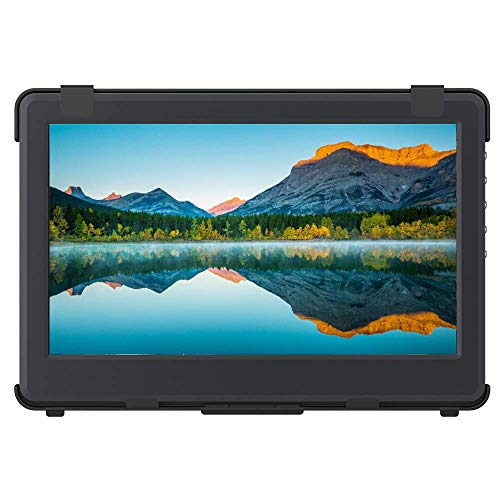 GeChic 1102E 11.6 inch FHD 1080p Portable Monitor with HDMI & VGA Video inputs, USB Powered, Plug&Play, Ultralight and Slim, Built-in Speakers, Rear Docking Expansion Port ...