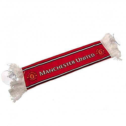 Official Licensed Manchester United F.C - Mini Car Scarf