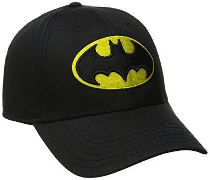 Buy Bolax Black Cotton Batman Cap for Men and Women Online at Low Prices in  India - Amazon.in 88b099b95499