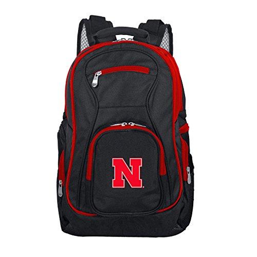 NCAA Nebraska Cornhuskers Colored Trim Premium Laptop Backpack