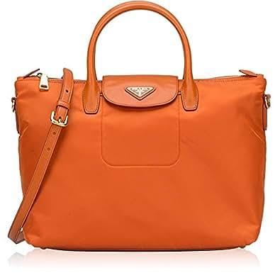 f1dd0a17cbb0 Prada Tessuto Saffiano Nylon Tote Shopping Shoulder Bag | Stanford ...