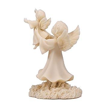 When God Calls Little Children Angel Figurine