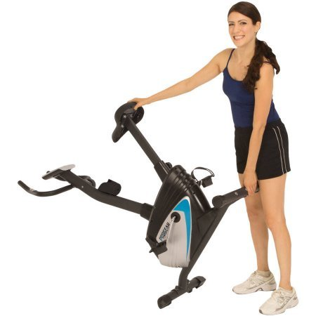 ProGear 250 Compact Upright Exercise Bike with Heart Pulse Sensors