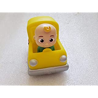 CoComelon Mini Play Vehicle School Bus with J.J.