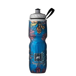 Polar Bottle Insulated Water Bottle (24-Ounce) (April Showers)