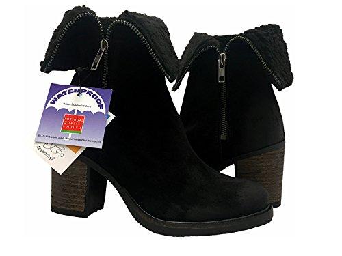 Bos. & Co Beverlee Zwarte Laarzen Maat 37