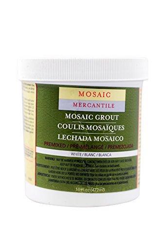 Mosaic Mercantile Premixed White Grout 16-Ounce (GRT-16)