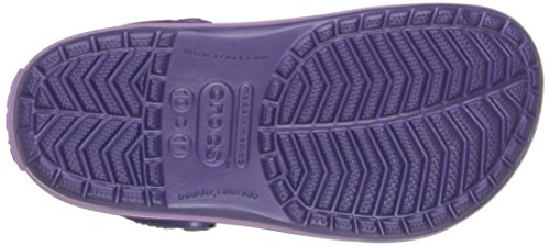 blue Unisex Kids Blu Bambini Crocband Crocs Violet iris – Zoccoli q600ct