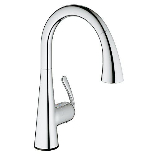 Ladylux Touch Electronic Single handle With Pull-out Dual Spray, 30205001 - StarLight Chrome