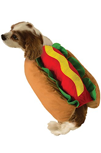 Forum Novelties Hot Dog Doggie Pet Costume (Small)-Small