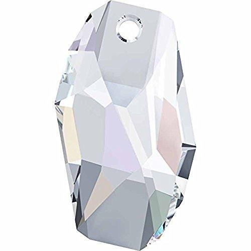 (6673 Swarovski Pendant Meteor | Crystal AB | 28mm - Pack of 1 | Small & Wholesale Packs)