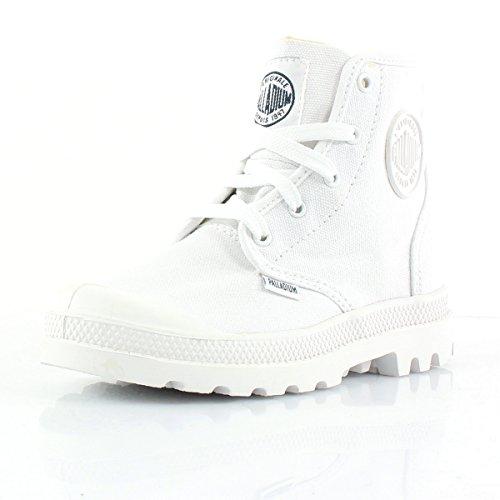 Palladium K Pampa HI Lace Schuh White / White White
