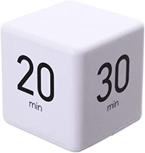 Moontie The Miracle TimeCube Timer, 15, 20, 30 and 60 Minute for Time Management