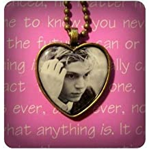 Evan Peters pendant necklace