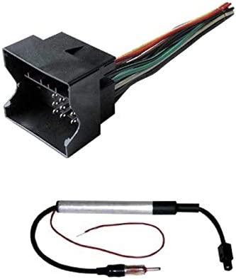 ASC Audio Car Stereo Radio Wire Harness and Antenna Adapter to Aftermarket on tundra radio wiring, corrado radio wiring, xterra radio wiring, vw radio wiring, sx4 radio wiring,