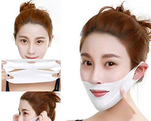 4D Double Compact Hanger Ear Mask Face Lifting Firming Mask Magic V Shaped Facial Mask