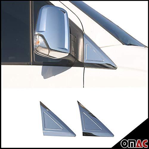 - OMAC MERCEDES SPRINTER CHROME QUARTER WINDOW COVER MIRROR PANEL TRIM