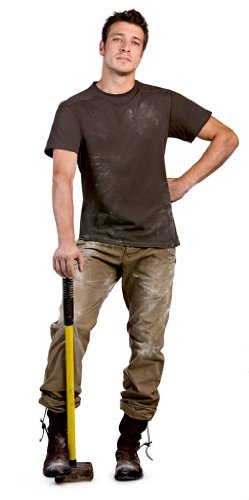 Arbeits-T-Shirt , Farbe:Brown;Größe:M M,Brown