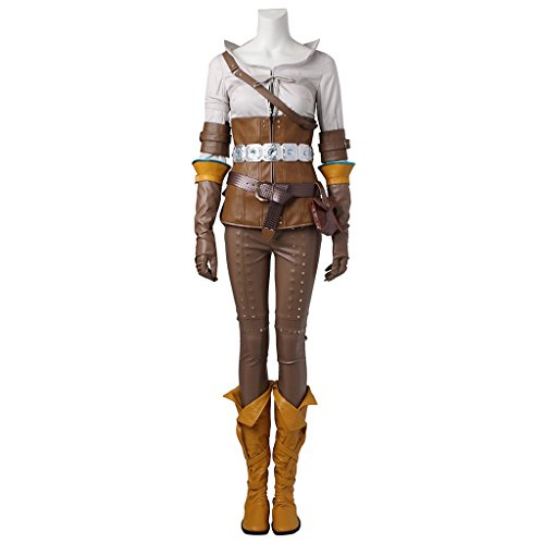 [CosplayDiy Women's Suit for The Witcher 3: Wild Hunt Cirilla Cosplay L] (Geralt Witcher 3 Costume)