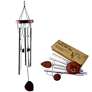 YEAR END SALE - BEAUTIFUL WIND CHIMES - Tuned 22  Wood Windchimes Deliver Rich, Full, Relaxing Tones - Best Large Wooden Wind Chime For Outdoor Patio - Music To Your Ears - SATISFACTION GUARANTEE
