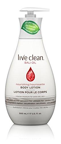 - Live Clean Bali Oil Nourishing Body Lotion, 17 oz.