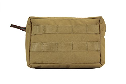 Medium General Purpose GP MOLLE Pouch 5X8X3 (Coyote) | Made In USA, Overland Off-Road Car Camping Gear by Blue Ridge Overland Gear